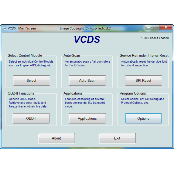 VCDS (HEX-V2) Diagnostic Tool 3 VIN